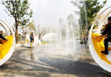 动感单车喷泉/喊泉