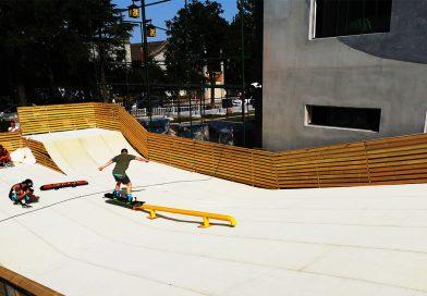 单板公园旱雪场建设